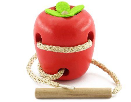 Шнуровка яблоко