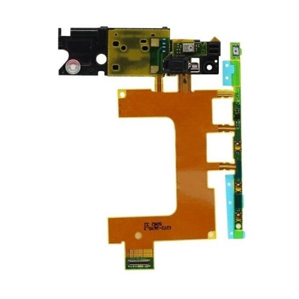 Шлейф с кнопками включения и громкости для Sony Xperia ZR