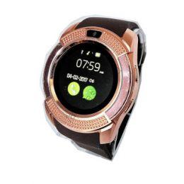 Умные часы Smart watch V8 золотой