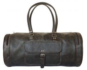 Кожаная дорожная сумка Belforte brown