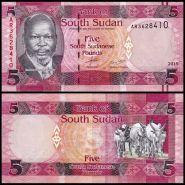 Южный Судан 5 Фунтов 2015 ПРЕСС