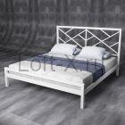 """Кровать двуспальная """"Windmill"""" белая"""