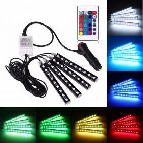 Подсветка для салона RGB с пультом