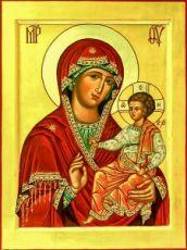Икона Седмиезерная икона Божией Матери
