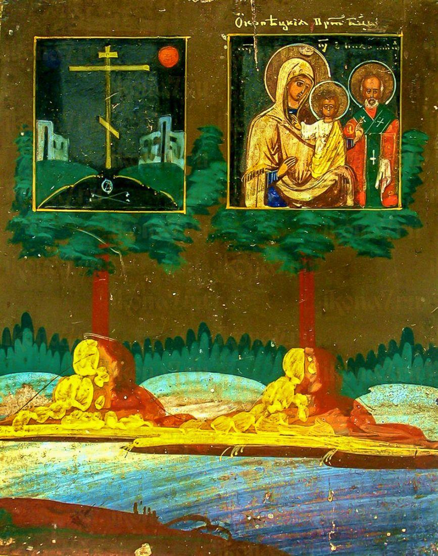 Ржевская (Оковецкая) (икона на дереве)