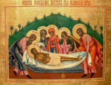Икона Положение во гроб