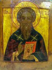 Тихон Амафунтский (копия старинной иконы)