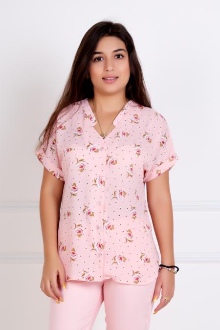 "Блуза ""Илона"" розовая"