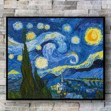 Звездная ночь ( Репродукция Ван Гога)