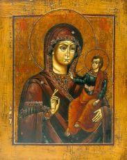 Седмиезерная икона Божией Матери (копия 19 века)