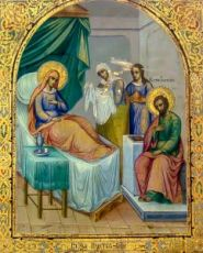 Икона Рождество Пресвятой Богородицы (копия 19 века)