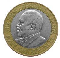 Кения 10 шиллингов 2010 г.