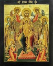 Свенская-Печерская (копия иконы 19 века)
