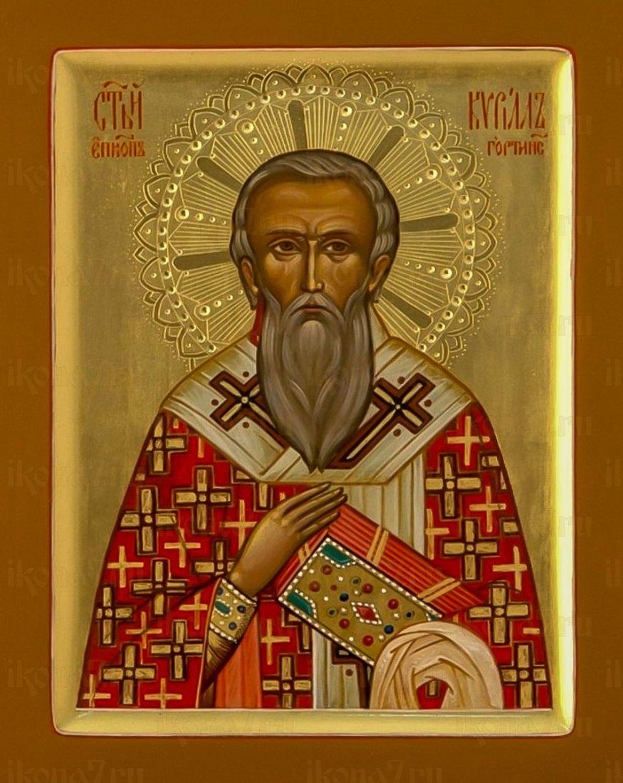 Икона Кирилл Гортинский