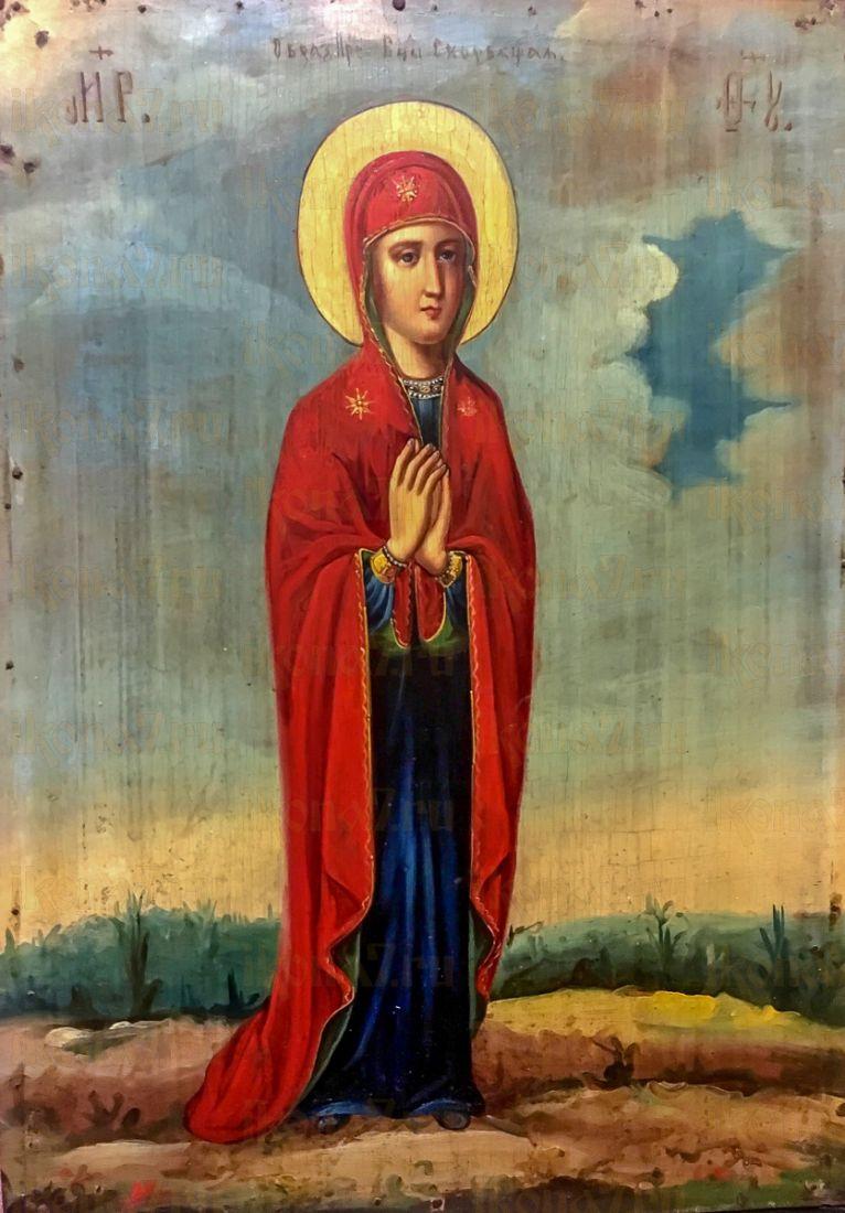 Скорбящая икона БМ (копия старинной)