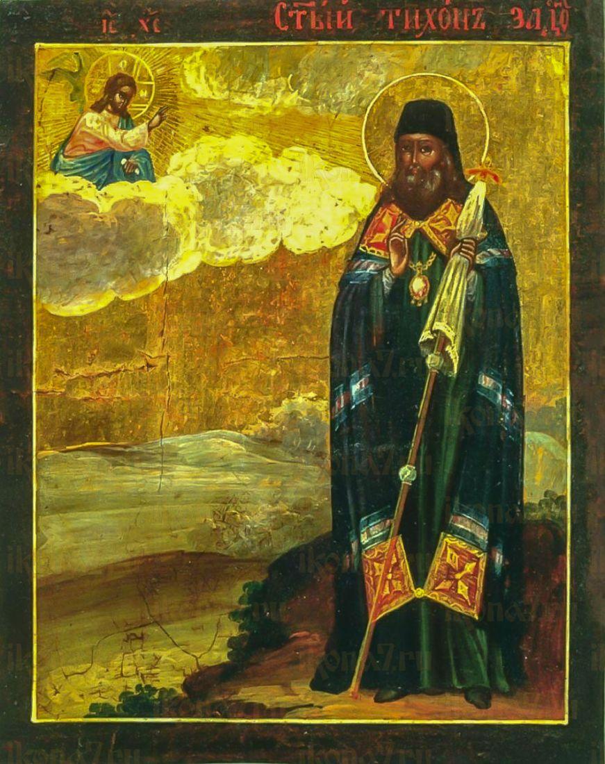 Тихон Задонский (Воронежский) (копия старинной иконы)