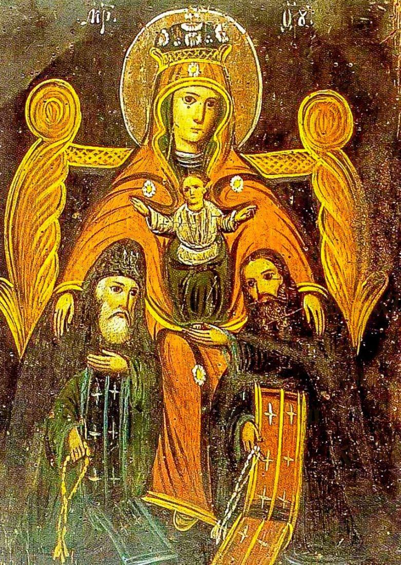 Печерская икона БМ (копия старинной)