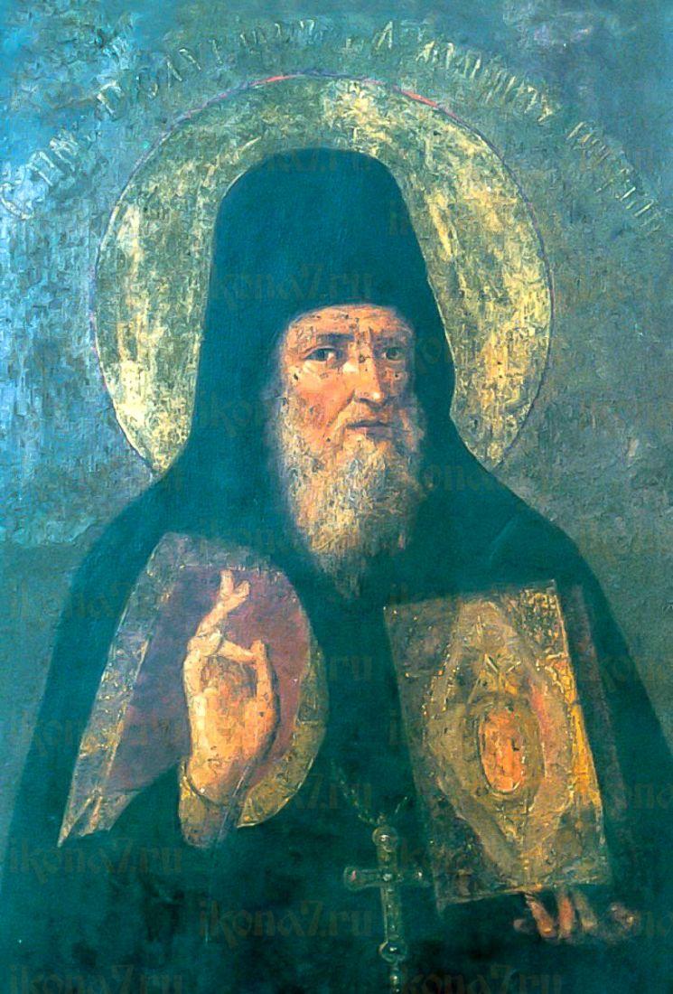 Поликарп Печерский (копия старинной иконы)