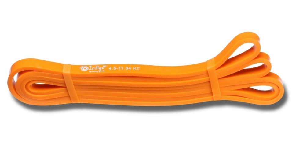 Эспандер резиновая петля Кроссфит INDIGO 601 HKRBB 208*1,3 см (5 - 12 кг)