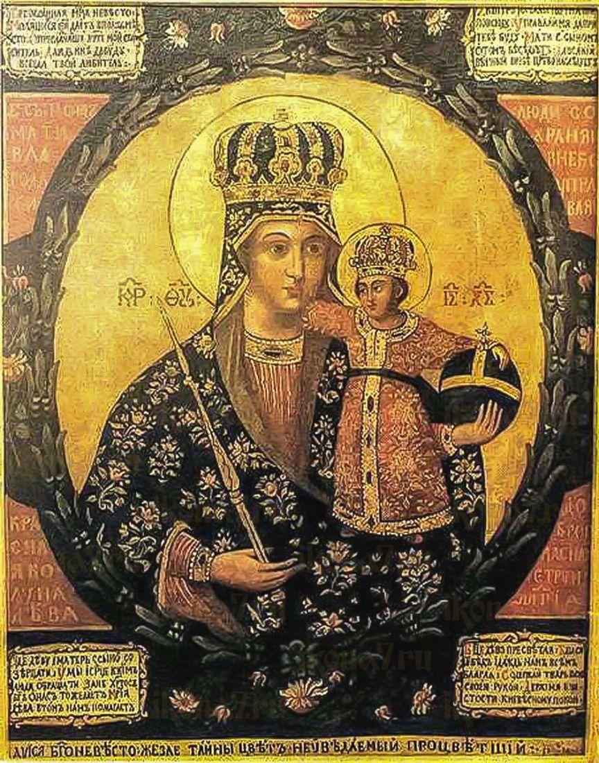 Трубчевская икона Божией Матери (копия старинной)