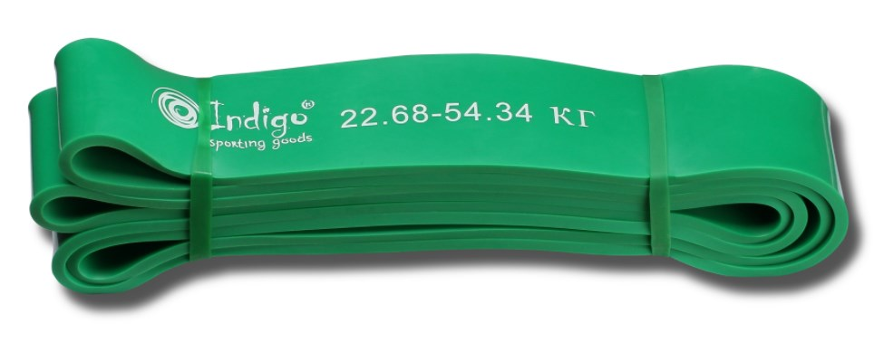 Эспандер резиновая петля Кроссфит INDIGO 601 HKRBB 208*4,4 см (23 - 54 кг)