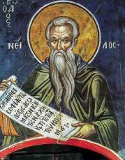 Нил Постник (Синайский) (копия старинной иконы)