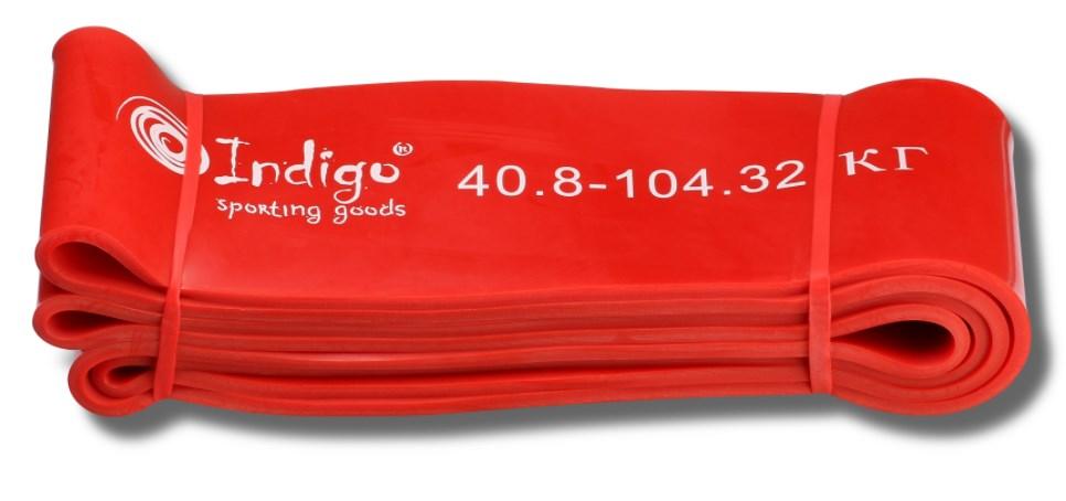 Эспандер резиновая петля Кроссфит INDIGO 97660 IR 208*8,3 см (40 - 105 кг)