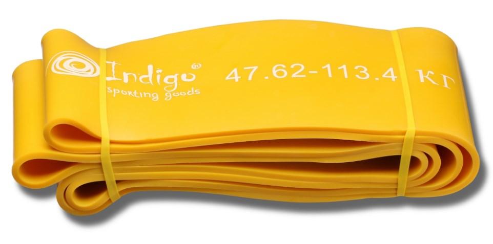 Эспандер резиновая петля Кроссфит INDIGO 97660 IR 208*10,1 см (47 - 114 кг)