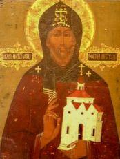 Икона Ефрем Новоторжский (копия 19 века)
