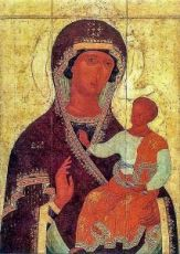 Седмиезерная икона Божией Матери (копия 16 века)
