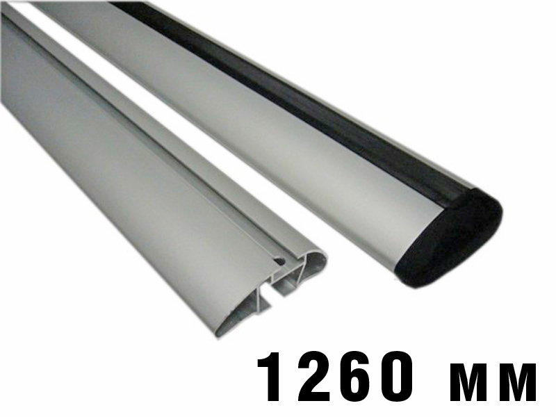Дуги багажные, алюминиевые, крыловидный профиль, Атлант - 1260 мм, артикул 8824