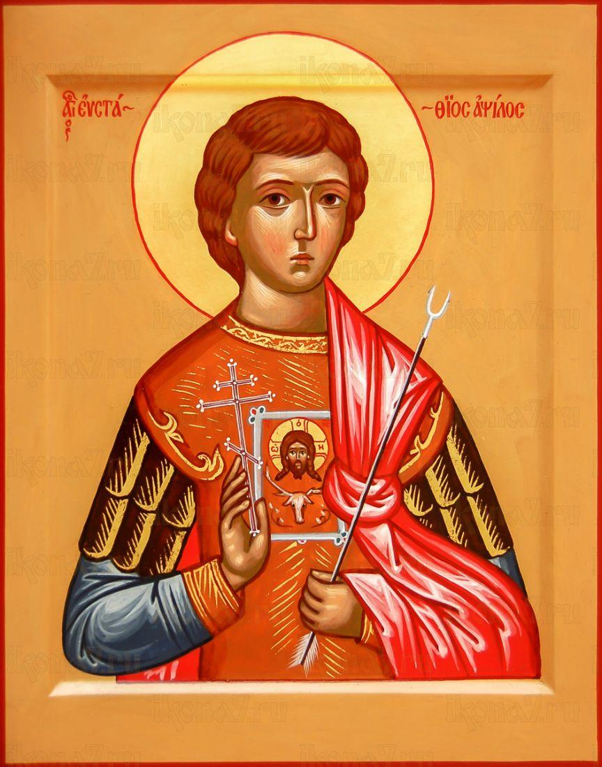 Евстафий Антиохийский (икона на дереве)