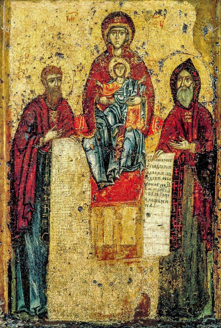 Свенская-Печерская (копия иконы 13 века)