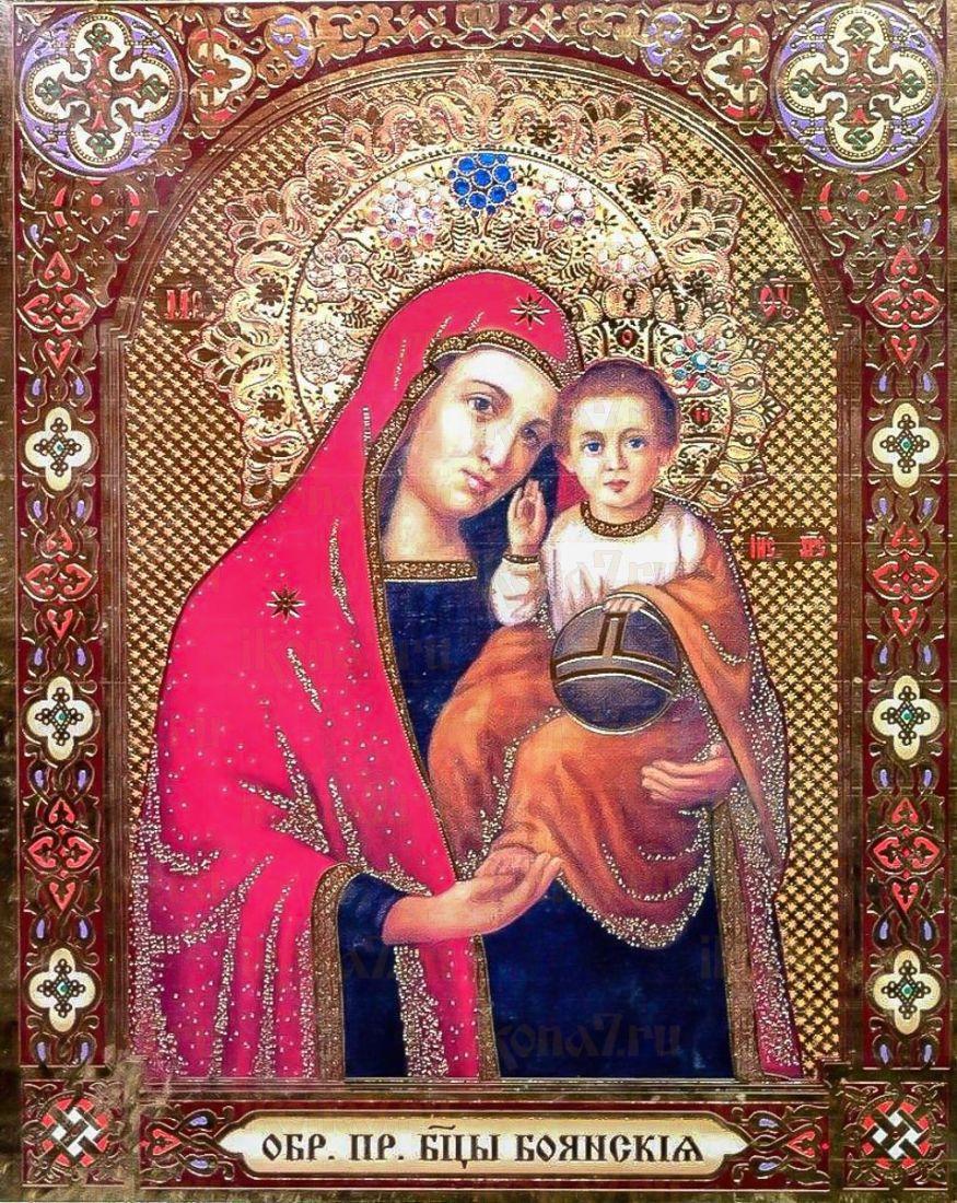 Боянская икона БМ (икона на дереве)