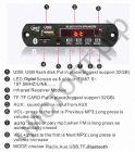 Модуль MP3 BT 62016  (12В) + пульт + шлейф