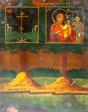 Икона Ржевская (Оковецкая) (копия 19 века)