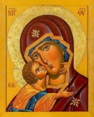 Икона Десятинная икона Божией Матери