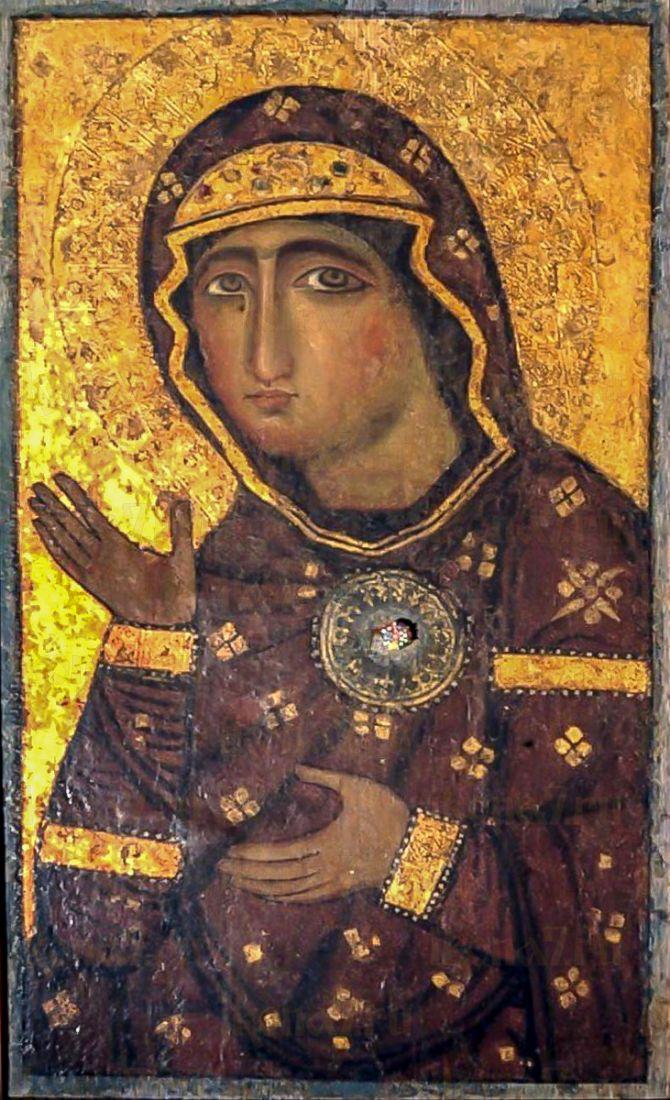 Едесская (Эдесская) икона Божией Матери (копия старинной)