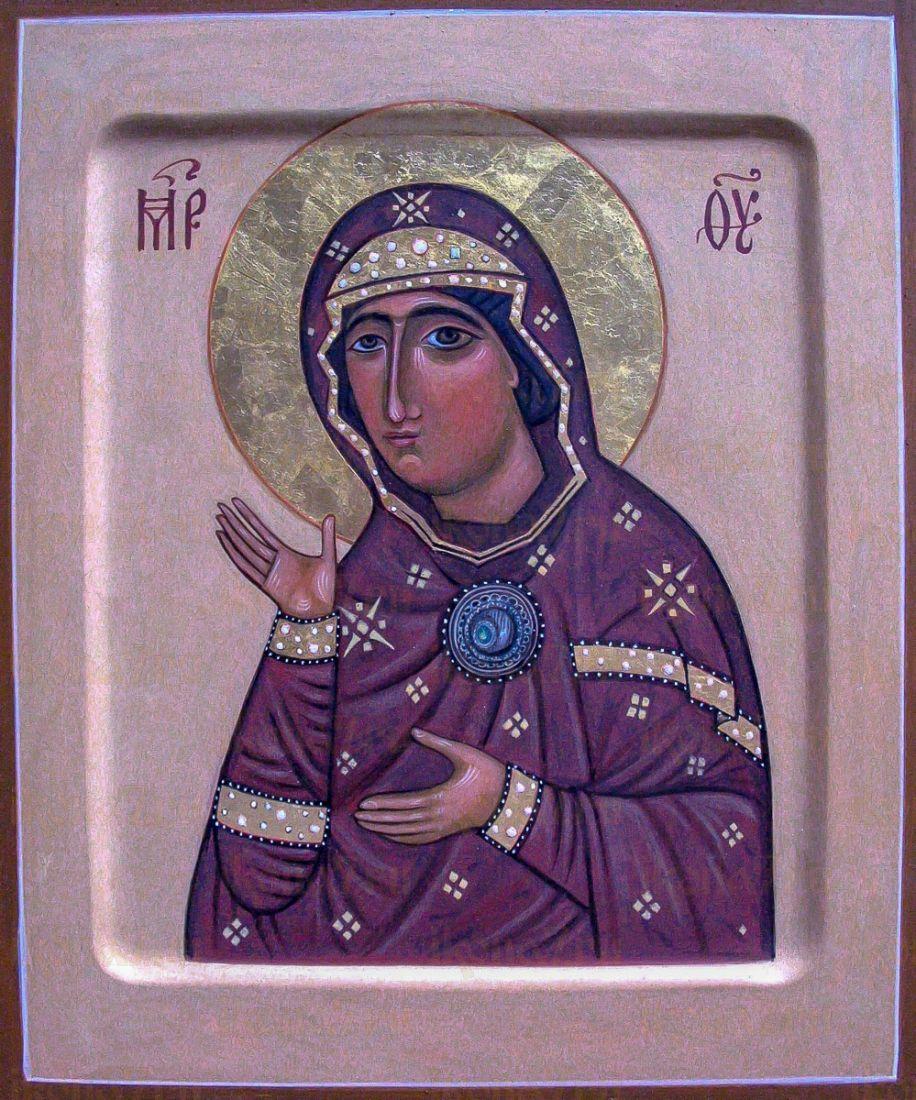 Едесская (Эдесская) икона Божией Матери