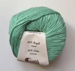 Baby cotton XL (Gazzal) 3425-мята