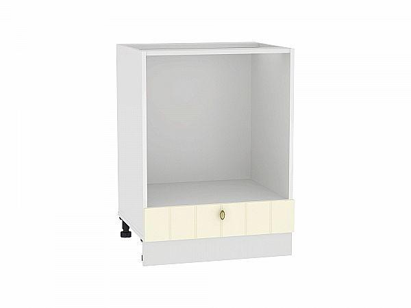 Шкаф нижний под духовку Прованс НД600 ваниль