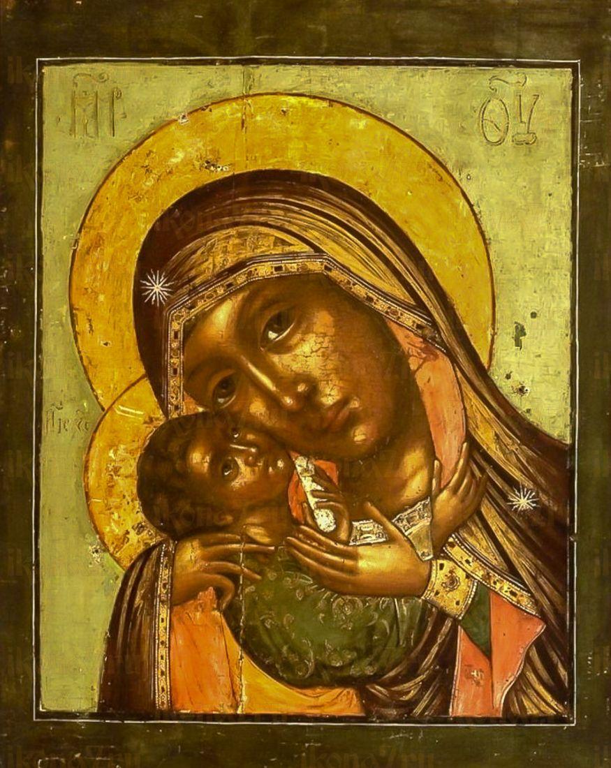 Днепрская икона Божией Матери (копия старинной)