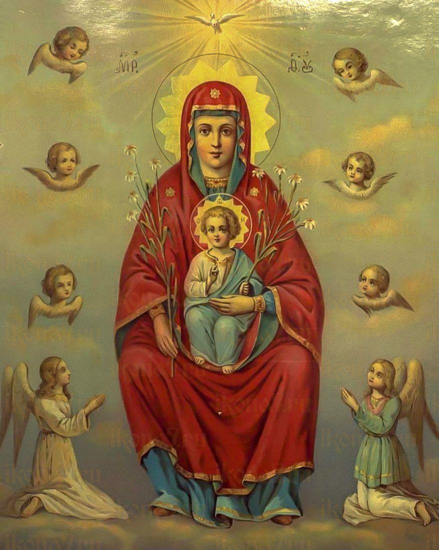 Икона Дивногорская (Сицилийская) икона Божией Матери