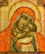 Дегтярёвская икона Божией Матери (копия старинной)