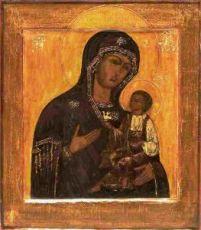 Голубинская икона Божией Матери (копия старинной)