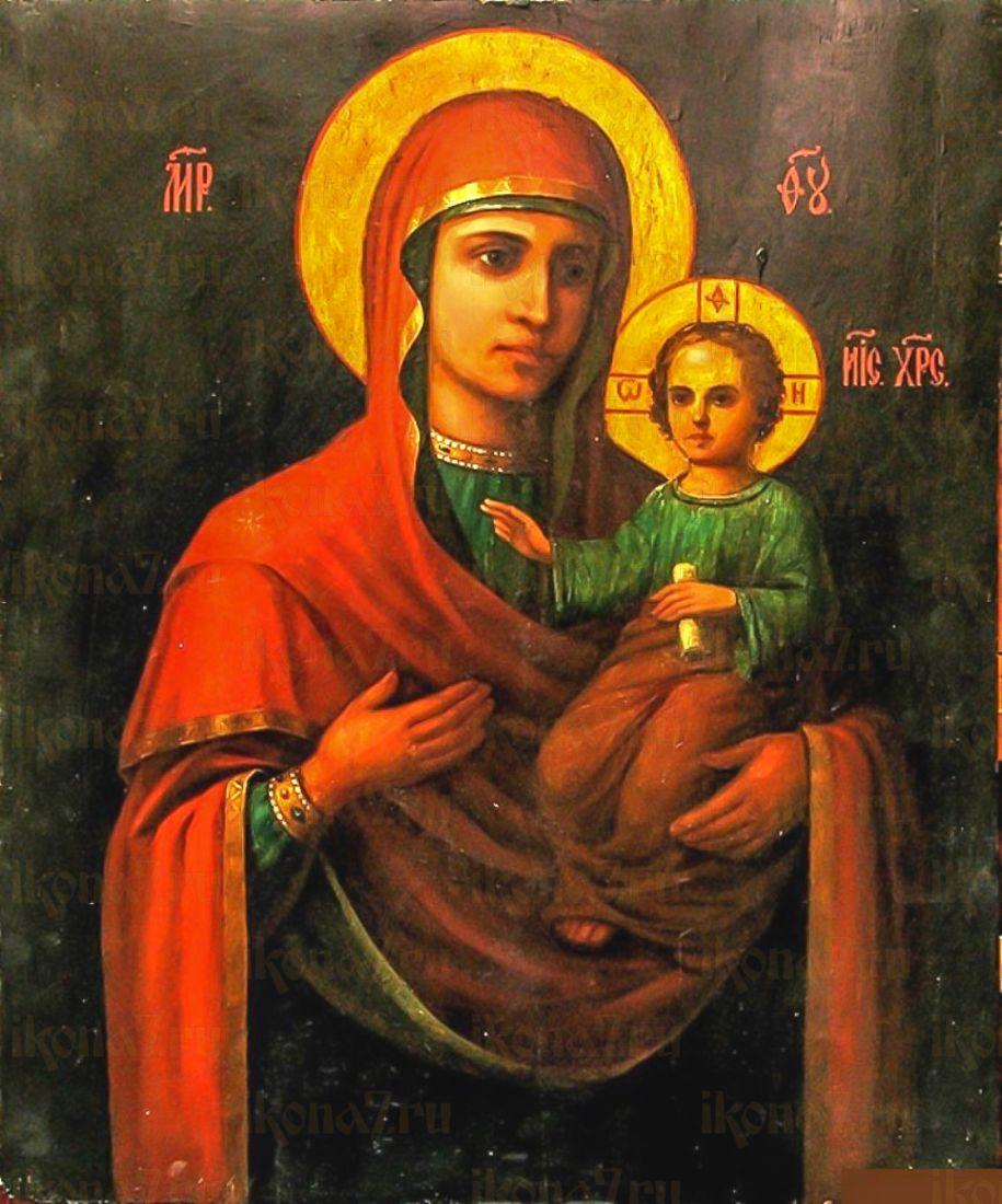 Гербовецкая икона Божией Матери (копия старинной)