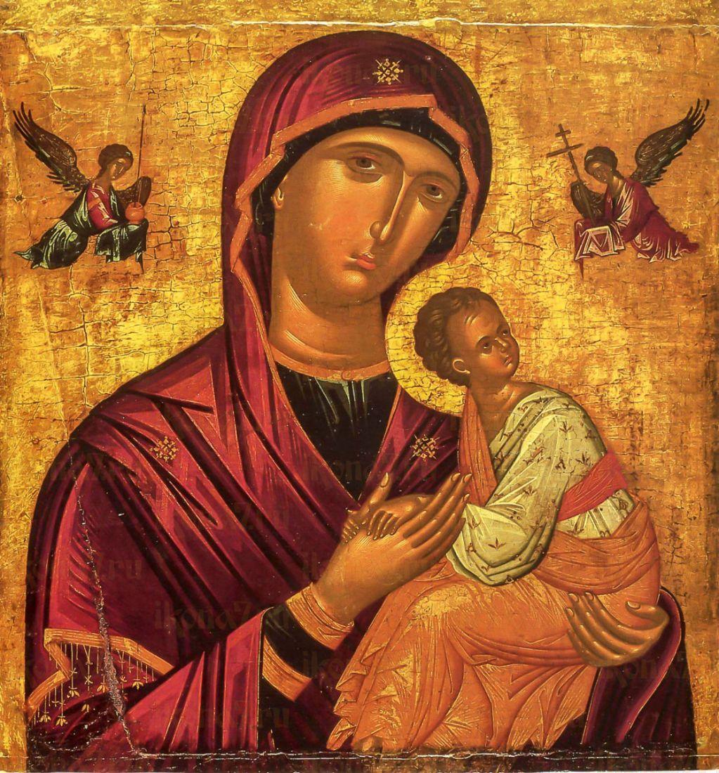 Страстная икона Божией Матери (копия старинной)