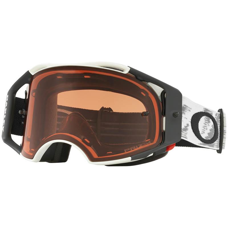 Oakley - Airbrake Matte White, очки белые с линзой Prizm Mx Bronze