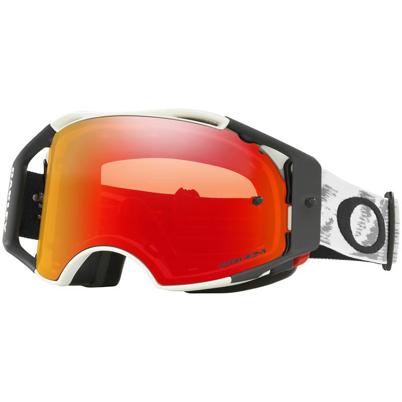 Oakley - Airbrake Matte White, очки белые с линзой Prizm Mx Torch