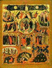 Величит Душа Моя Господа (копия старинной иконы)